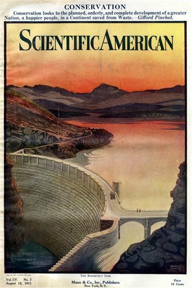 Theodore Roosevelt's birthday, Roosevelt Dam, Reclamation Act, 1911, Arizona history, Arizona historian, AZHistorian, John Larsen Southard, John Southard, Southard