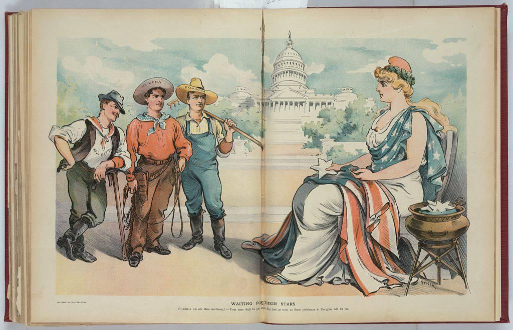 Arizona statehood, Arizona history, Arizona historian, AZHistorian, John Larsen Southard, John Southard, Southard, 1912, Baby State, KJZZ, 48th state
