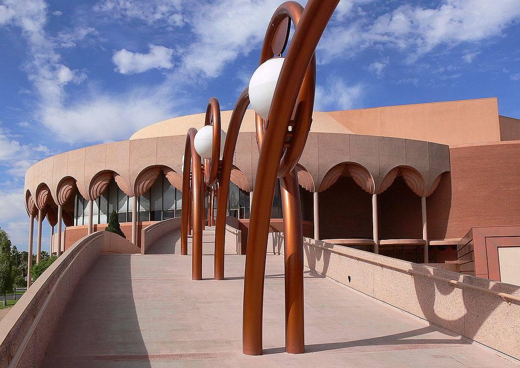 Grady Gammage, Gammage Auditorium, John Larsen Southard, John Southard, Southard, Arizona history, Arizona historian, AZHistorian, Tempe, ASU, Arizona State University, Frank Lloyd Wright